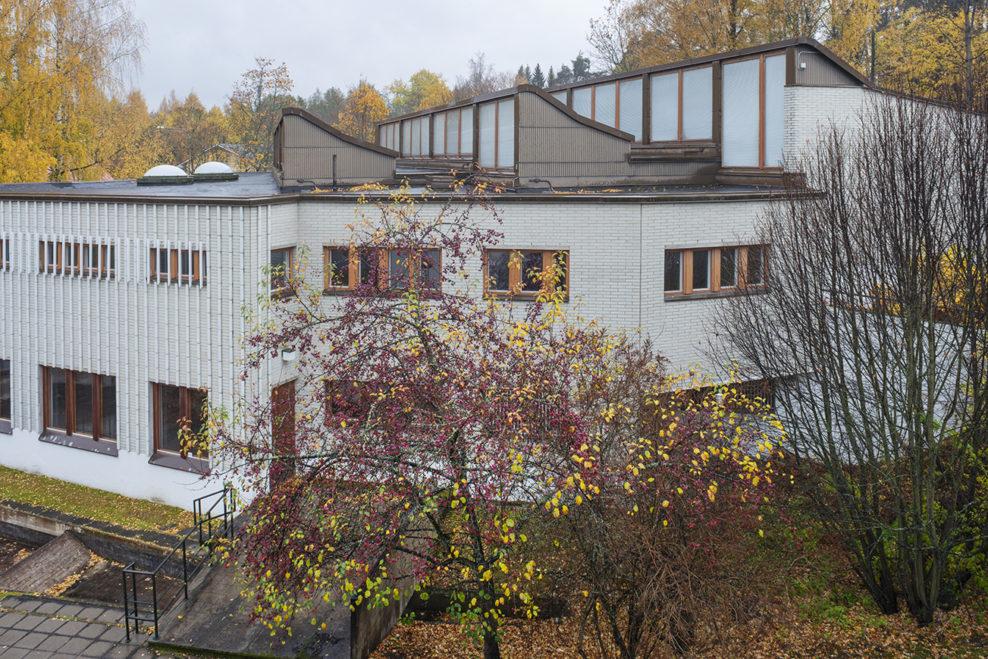 Alvar Aalto -museo (1971–73) Jyväskylän Ruusupuistossa. Valokuva Maija Holma, Alvar Aalto -säätiö.