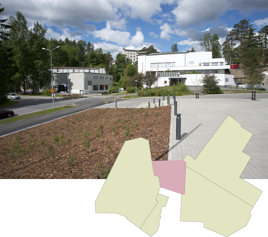 The public design competition for an extension for the Alvar Aalto Museum and the Museum of Central Finland. Photo: Alvar Aalto Museum.